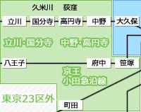 笹塚・中野・国分寺・立川